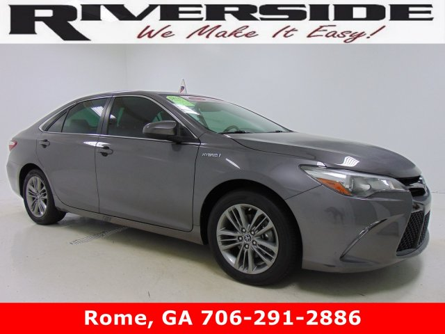 Certified Pre Owned 2016 Toyota Camry Hybrid Se 4dr Car In Rome T5211 Riverside