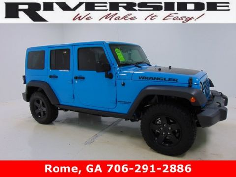 Pre-Owned 2017 Certified Jeep Wrangler Unlimited Big Bear