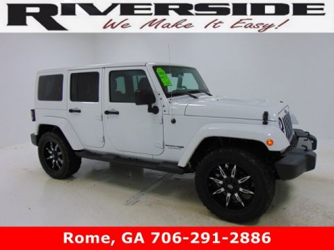 Pre-Owned 2018 Certified Jeep Wrangler JK Unlimited Altitude