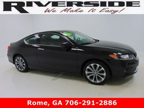 Pre-Owned 2015 Certified Honda Accord Coupe EX-L