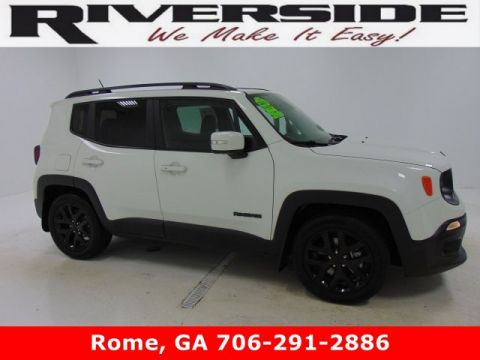 Pre-Owned 2017 Certified Jeep Renegade Altitude